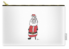 Wooden Leg Santa Carry-all Pouch