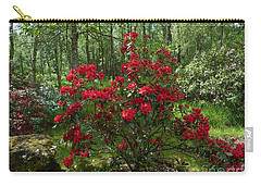 Carry-all Pouch featuring the photograph Azalea Woodland Garden by Phil Banks