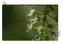 Carry-all Pouch featuring the photograph Woodland Hues by Liz  Alderdice
