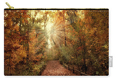 Woodland Light Carry-all Pouch by Jessica Jenney