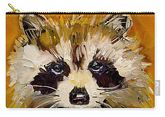 Woodland Racoon Carry-all Pouch