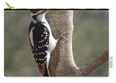 Carry-all Pouch featuring the photograph Woody by Mim White