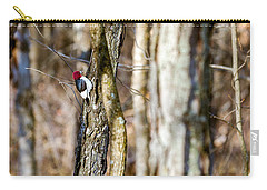 Carry-all Pouch featuring the photograph Woody by Sennie Pierson