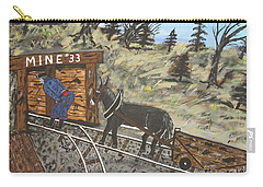 The Coal Mine Carry-all Pouch by Jeffrey Koss
