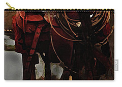 Working Man's Saddle Carry-all Pouch by Kim Henderson