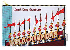 World Champions Flags Carry-all Pouch