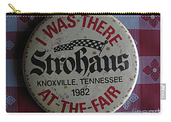 Carry-all Pouch featuring the photograph Worlds Fair by Michael Krek