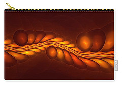 Worm Sign Orange Carry-all Pouch