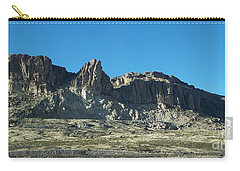 Carry-all Pouch featuring the photograph Western Landscape by Eunice Miller