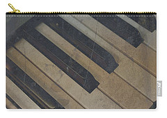Carry-all Pouch featuring the photograph Worn Out Keys by Photographic Arts And Design Studio