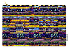 Woven Southwestern Sampler Carry-all Pouch