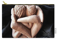 Wrapped Up In Each Other Carry-all Pouch by Barbara St Jean