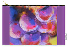 Carry-all Pouch featuring the painting Wrath Of Grapes by Deborah Boyd
