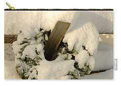 Carry-all Pouch featuring the photograph Wreath  by Alana Ranney