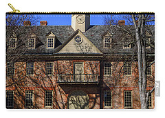 Carry-all Pouch featuring the photograph Wren Building Main Entrance by Jerry Gammon