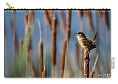 Wren Singing Carry-all Pouch