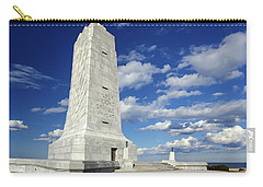 Wright Brothers Memorial D Carry-all Pouch by Greg Reed