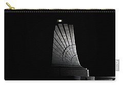 Carry-all Pouch featuring the photograph Wright Brothers Memorial II by Greg Reed