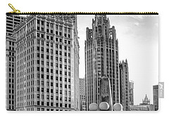 Wrigley And Tribune Carry-all Pouch by Scott Norris