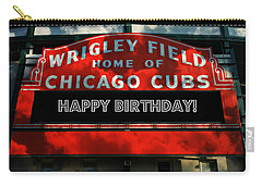 Wrigley Field -- Happy Birthday Carry-all Pouch