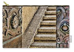 Wrigley's Bronze Doors By Diana Sainz Carry-all Pouch