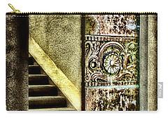 Wrigley's Tower Bronze Doors By Diana Sainz Carry-all Pouch