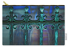 Carry-all Pouch featuring the photograph Wrought Iron by Rowana Ray