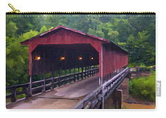Wv Covered Bridge Carry-all Pouch