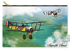 Ww1 British Sopwith Scout Carry-all Pouch