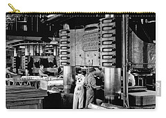 Wwii Aircraft Factory Carry-all Pouch by Underwood Archives