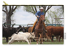 Wyoming Branding Carry-all Pouch