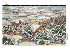 Wyoming Christmas Carry-all Pouch