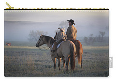 Wyoming Ranch Carry-all Pouch by Diane Bohna