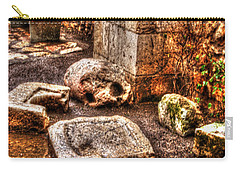 Carry-all Pouch featuring the photograph Stones That Don't Lie - Israel by Doc Braham