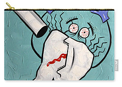 Carry-all Pouch featuring the painting Xrayed Tooth by Anthony Falbo