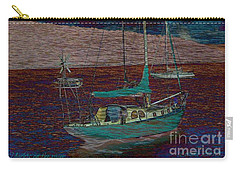 Yachts On The River Carry-all Pouch