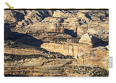 Yampa River Canyon In Dinosaur National Monument Carry-all Pouch by Nadja Rider