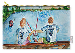 Yankee Fans Day Off Carry-all Pouch