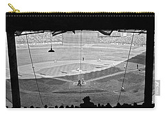 Yankee Stadium Grandstand View Carry-all Pouch by Underwood Archives