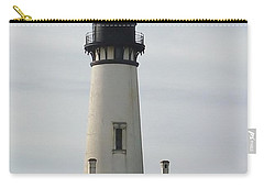 Carry-all Pouch featuring the photograph Yaquina Bay Lighthouse by Susan Garren