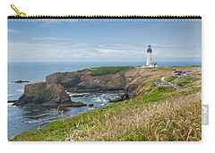 Carry-all Pouch featuring the photograph Yaquina Head Lighthouse by Jeff Goulden
