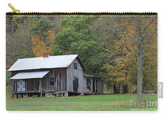 Ye Old Cabin In The Fall Carry-all Pouch