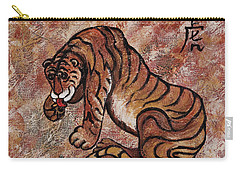 Year Of The Tiger Carry-all Pouch