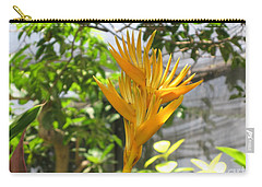Yellow Bird Of Paradise Carry-all Pouch