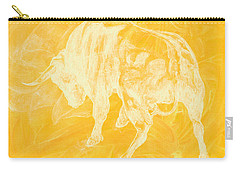 Yellow Bull Negative Carry-all Pouch