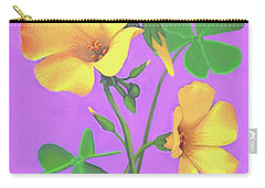 Yellow Clover Flowers Carry-all Pouch