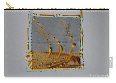 Yellow Droplets Carry-all Pouch