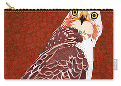 Yellow Eyed Hawk Carry-all Pouch