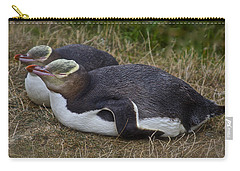 Sleeping Yellow Eyed Penguins Carry-all Pouch
