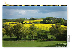 Yellow Fields In The Sun Carry-all Pouch